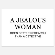 A Jealous Woman Invitations