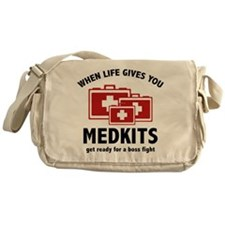 When Life Gives You Medkits Messenger Bag