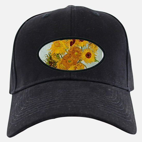 Vincent Van Gogh Sunflower Painting Baseball Hat