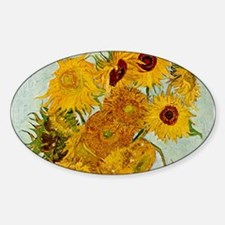 Vincent Van Gogh Sunflower Painting Decal