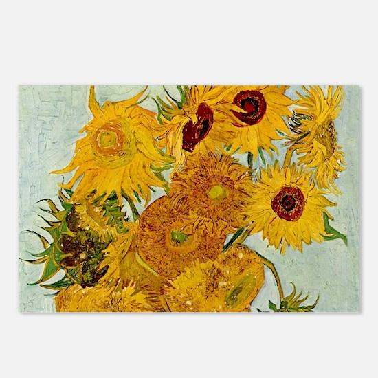Vincent Van Gogh Sunflower Painting Postcards (Pac