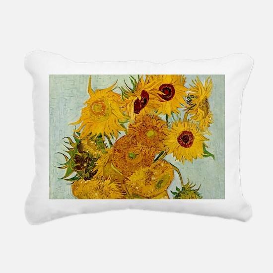 Vincent Van Gogh Sunflower Painting Rectangular Ca
