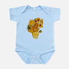 Vincent Van Gogh Sunflower Painting Body Suit
