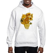 Vincent Van Gogh Sunflower Painting Hoodie