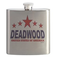 Deadwood U.S.A. Flask
