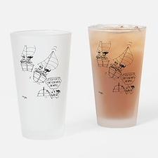 Sailing Cartoon 7510 Drinking Glass