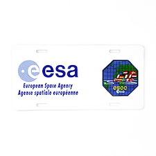 ESOC Aluminum License Plate