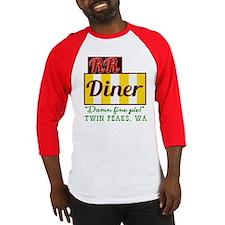 Double RR Diner in Twin Peaks Baseball Jersey