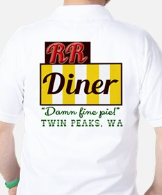 Double RR Diner in Twin Peaks T-Shirt