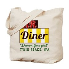 Double RR Diner in Twin Peaks Tote Bag