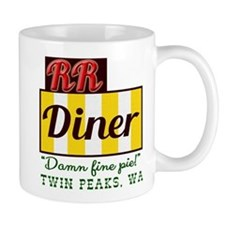Double RR Diner in Twin Peaks Mug