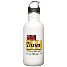 Double RR Diner in Twi Water Bottle