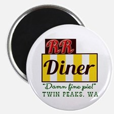 Double RR Diner in Twin Peaks Magnet