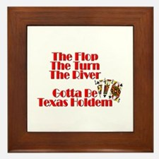 The Flop, The Turn, The River:Gotta be Framed Tile
