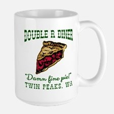 Twin Peaks Cherry Pie Diner Large Mug