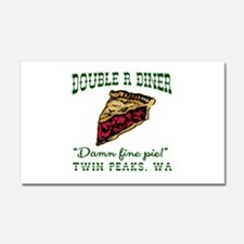 Twin Peaks Cherry Pie Diner Car Magnet 20 x 12