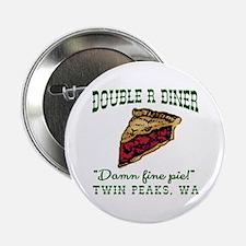 """Twin Peaks Cherry Pie Diner 2.25"""" Button"""