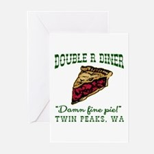 Twin Peaks Cherry Pie Di Greeting Cards (Pk of 10)