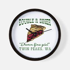 Twin Peaks Cherry Pie Diner Wall Clock