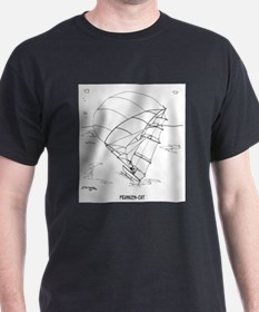 Catamaran Cartoon 7459 T-Shirt