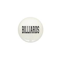 Billiards Mini Button (100 pack)