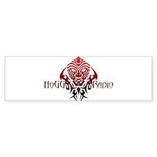 HoGG::Radio Bumper Car Sticker