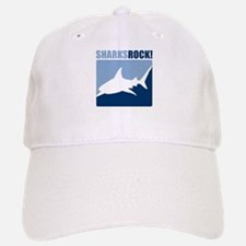 Sharks Rock! Baseball Baseball Cap
