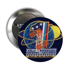 "Year in Space 2.25"" Button"