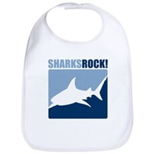 Sharks Rock! Bib