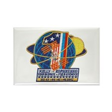Year in Space Rectangle Magnet