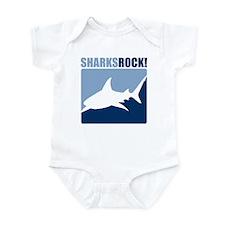 Sharks Rock! Infant Bodysuit