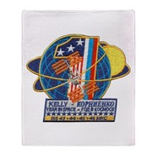 Year in Space Throw Blanket