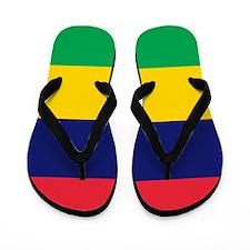 Flag of Mauritius Flip Flops