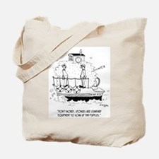 Boat Cartoon 5582 Tote Bag