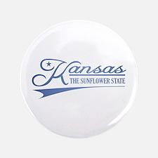 "Kansas State of Mine 3.5"" Button"