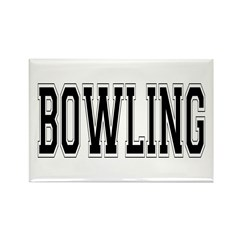 Bowling Rectangle Magnet