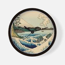 Japanese Vintage Art Sea of Satta Hiroshige Wall C