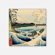 Japanese Vintage Art Sea of Satta Hiroshige Sticke