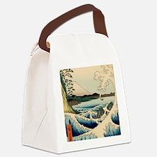 Japanese Vintage Art Sea of Satta Hiroshige Canvas