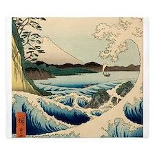 Japanese Vintage Art Sea of Satta Hiroshige King D