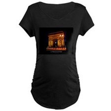 The Beauty of France:Arch de Tri Maternity T-Shirt