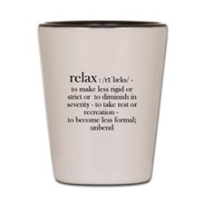 Relax, Fun dictionary reminder for the Stressed ou