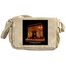 The Beauty of France:Arch de Triomph Messenger Bag