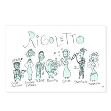 Rigoletto: The Postcards (Package of 8)