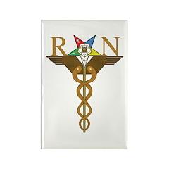 OES Registered Nurses Rectangle Magnet