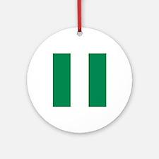 Flag of Nigeria Ornament (Round)