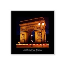The Beauty of France:Arch de Triomphe Sticker