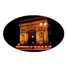 The Beauty of France:Arch de Triomphe Decal