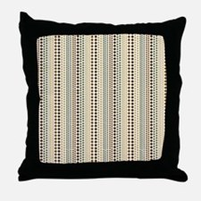 Earth Rain Pattern Throw Pillow