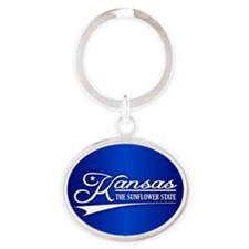 Kansas State of Mine Keychains